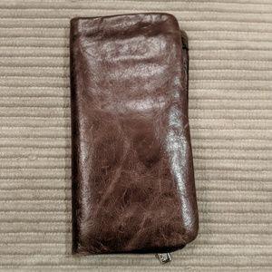 Brown HOBO wallet